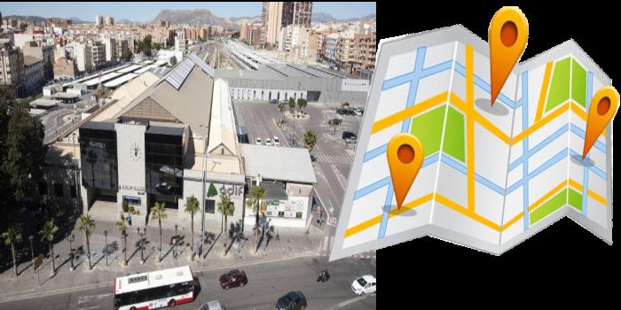 Desde Estación Renfe y/o autobuses, Alicante con destino: • Mil Palmeras. • El Mojón. •…