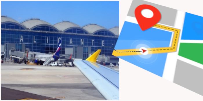 Desde Aeropuerto Alicante (ALC) con destino: Alicante (Ciudad). San Vicente del Raspeig. Muchamiel. Alenda Golf.…
