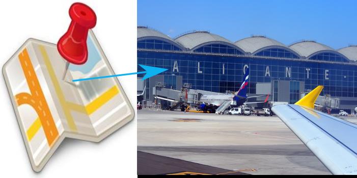 Desde Pinar de Campoverde con destino: • Aeropuerto Alicante (ALC), El Altet