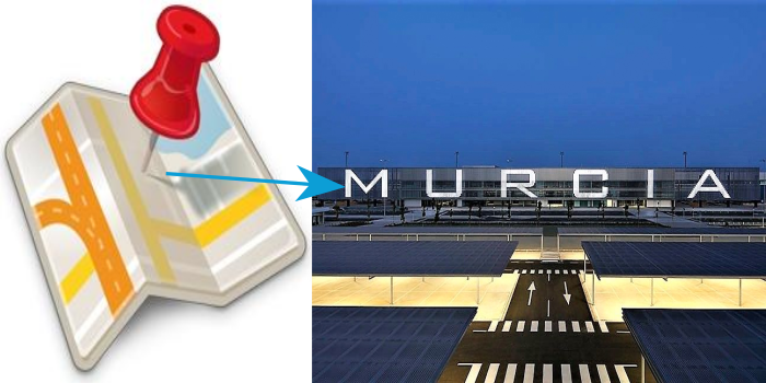 Desde Pinar de Campoverde con destino: • Aeropuerto Murcia (RMU)